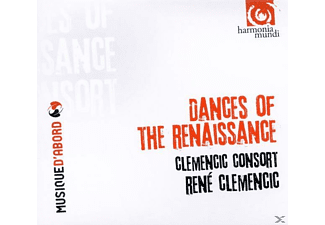 Clemencic Consort - Dances Of The Renaissance - (CD)