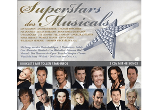 VARIOUS - Superstars Des Musicals - (CD)