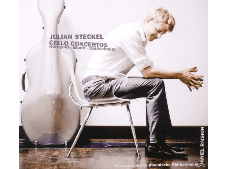 Rheinische Philharmonie, Raiskin, Julian Steckel - Cellokonzerte [CD]