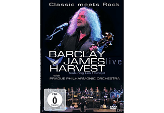 Barclay James Harvest, Prague Philharmonic Orchestra - Classic Meets Rock - (DVD)