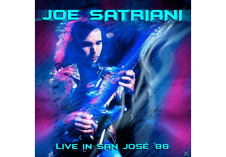 Joe Satriani - Live In San Jose '88 - (CD)