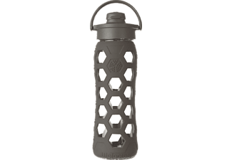 LIFEFACTORY 14703, Trinkflasche, Carbon