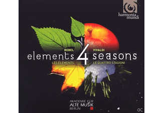 Akademie Fuer Alte Musik Midori Seiler (violine) - 4 Elements-4 Seasons - (CD)
