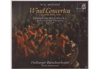 Freiburger Barockorchester - Wind Concertos - (CD)