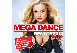 VARIOUS - Mega Dance Top 100 Best Of 2013 [CD]