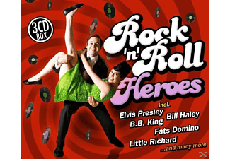 VARIOUS - Rock  n  Roll Heroes - (CD)