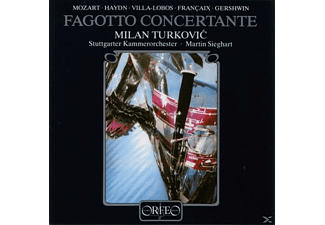 Turkovic - Fagotto Concertante - (CD)
