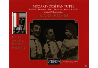 VARIOUS, Karl Böhm, Wiener Philharmoniker, Irmgard Seefried, Dagmar Hermann - Cosi Fan Tutte - Live in Salzburg 1954 - (CD)