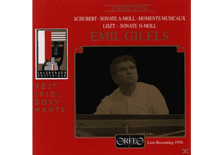 Emil Gilels - Sonate a-moll D 784/Moments musicaux/Sonate h-moll - (CD)