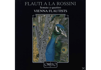 Vienna Flautists - Flauti a la Rossini/Sonate a quattro 1,2,3,6 - (CD)