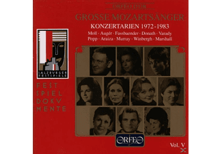 VARIOUS - Grosse Mozartsänger Vol.5-Konzertarien 1972-1983 - (CD)