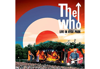 The Who - Live in Hyde Park - (LP + DVD Video)