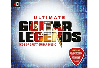 VARIOUS - Ultimate... Guitar Legends - (CD)