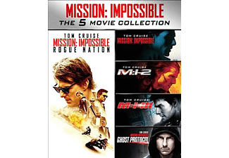 Misison Impossible 1 tot 5 FR Blu-ray