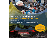 Simon Rattle, Berliner Philharmoniker - Pb/Rattle, Siomamera, Action! [Blu-ray]
