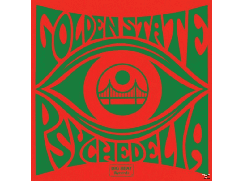 VARIOUS - Golden State Psychedelia [CD]