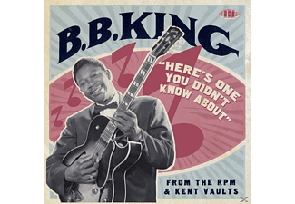 B.B. King - Heres One You Didnt Know About-From The Rpm & Ke - (CD)