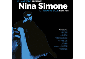 Nina Simone, Dj Maestro - Little Girl Blue Remixed - (Vinyl)