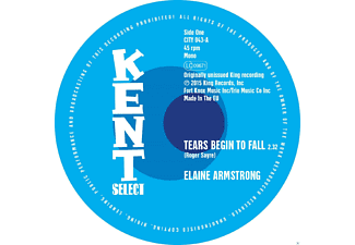 Elaine Armstrong - Tears Begin To Fall - (Vinyl)