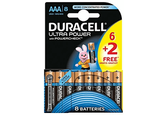DURACELL Ultra Power AAA 6+2