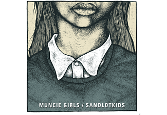 Muncie Girls, Sandlotkids - Split - (Vinyl)