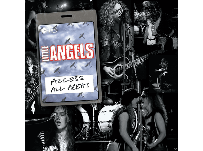 Little Angels - Access All Areas [CD + DVD Video]