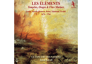 Le Concert Des Nations - Les Elements - (SACD Hybrid)
