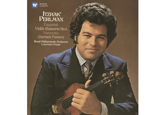 Itzhak Perlman, Royal Philharmonic Orchestra, VARIOUS, Lawrence Foster - Violinkonzert 1/Carmen-Fantasie - (Maxi Single CD)