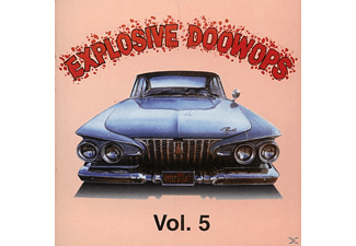 VARIOUS - Vol.5, Explosive Doo Wop - (CD)