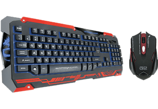 DRAGON WAR Souris gamer + Clavier gamer Sencaic AZERTY (SENCAICBLACK)