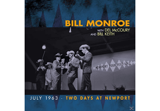 Bill Monroe - Two Days At Newport - (CD)