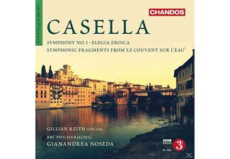 Bbc Philharmonic - Casella: Orchestral Works - (CD)