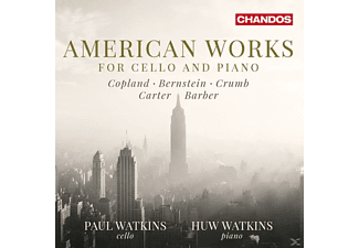 Paul Watkins, Huw Watkins - Amerikanische Cellosonaten - (CD)