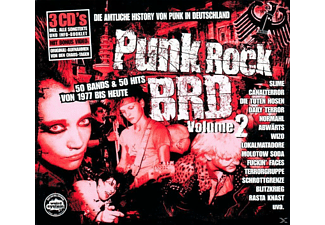 VARIOUS - Punk Rock Brd 2 [CD EXTRA/Enhanced]