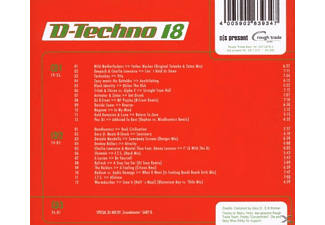 Various - D.Techno 18/Gary D. - (CD)