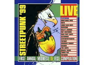 Various Live Bands - Streetpunk 99 - (CD)