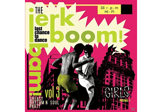Various/Jerk Boom Bam - Vol.3-Greasy Rhythm & Soul Party - (Vinyl)