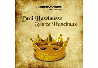 DJ Happy Vibes feat. Jazzmin - DREI HASELNÜSSE/THREE HAZELNUTS - (Maxi Single CD Extra/Enhanced)
