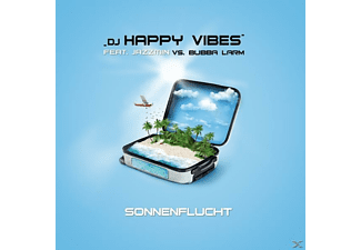 DJ Happy Vibes feat. Jazzmin vs. Bubba Larm - Sonnenflucht - (Maxi Single CD)