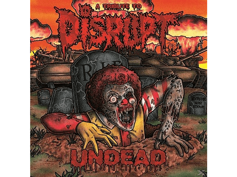 VARIOUS - Undead-A Tribute To Disrupt [Vinyl]