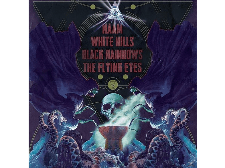 NAAM/WHITE HILLS/BLACK RAINBOWS/FLYING EYES - 4-Way Split [CD]