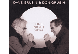 Grusin, Dave & Grusin, Don - One Night Only - (CD)