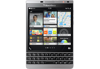 BLACKBERRY Passport Silver Edition 32 GB Schwarz/Silber