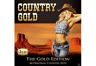 VARIOUS - Country Gold-40 Orig.Country Hits - (CD)