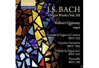 Robert Quinney, VARIOUS - Orgelwerke Vol.3 - (CD)