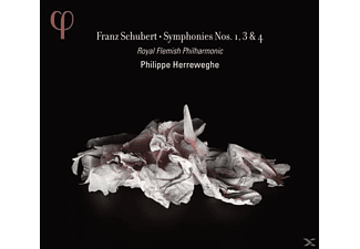 Royal Flemish Philharmonic - Sinfonien 1,3 & 4 - (CD)