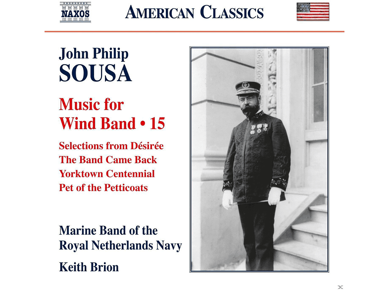 Marine Band Of The Royal Netherlands Navy - Music For Wind Band Vol. 15 [CD]