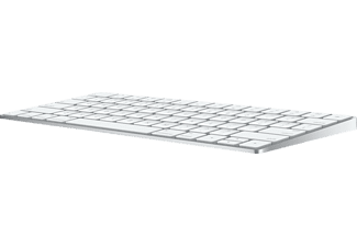 Teclado inalámbrico - Apple Magic Keyboard, Bluetooth, USB, Blanco
