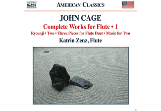 Katrin Zenz - Cage: Complete Works For Flute, Vol. 1 - (CD)