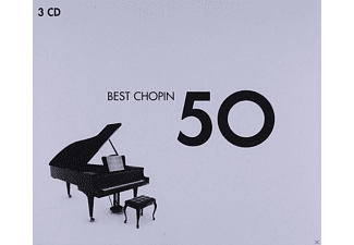 VARIOUS - 50 BEST CHOPIN - (CD)